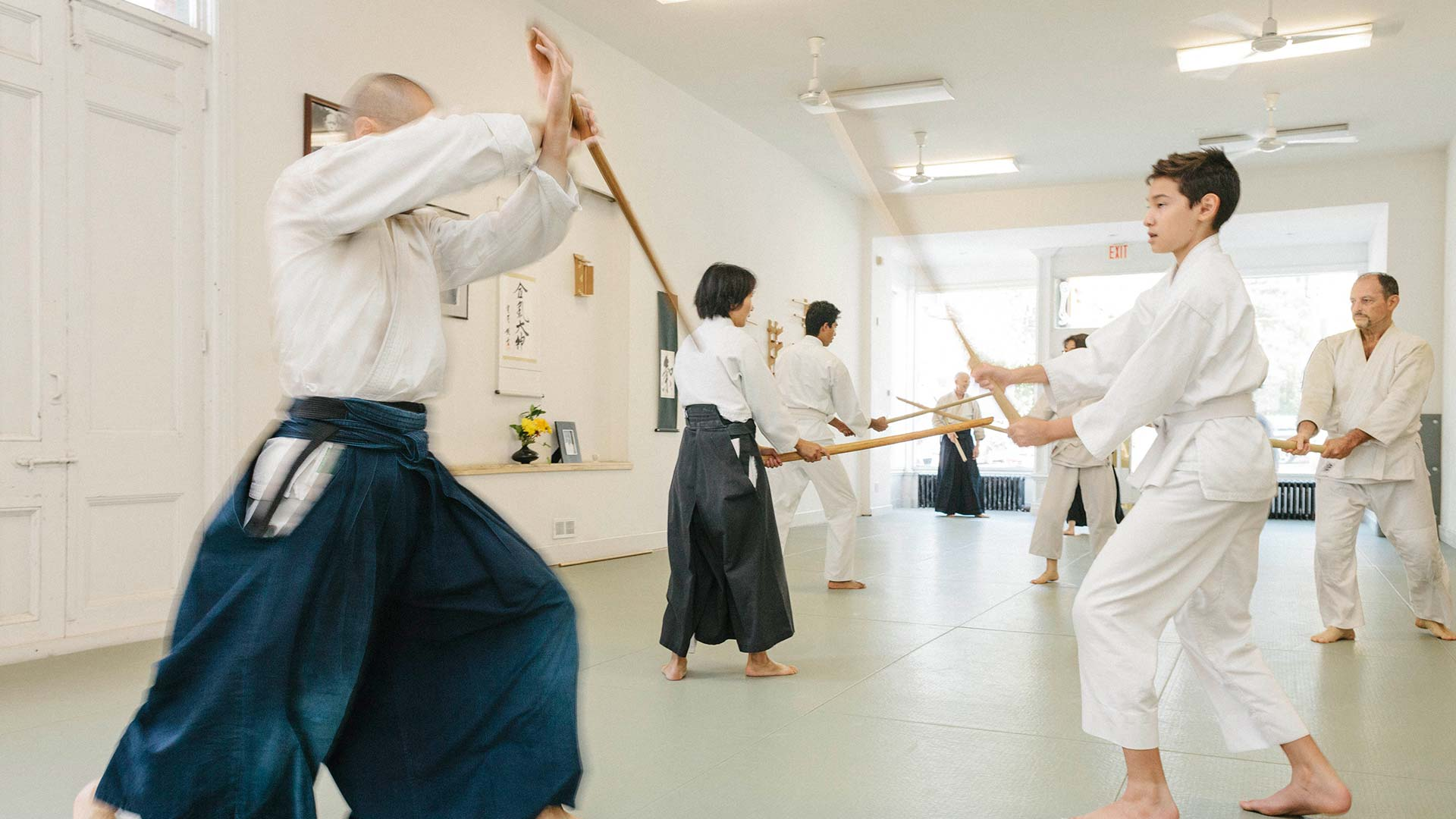 aikido weapons martial arts classes downtown toronto